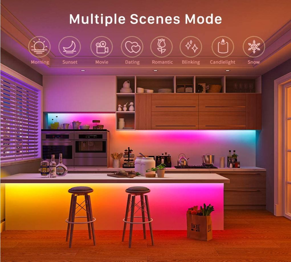 Minger Led Lights Minger Led Lights Minger Lights App Minger Led Strip Lights Kit Minger Dreamcolor App Remote 32 8 Ft 16 4 Ft 50 Ft 45 Ft Multicolor Color Changing Brand Company