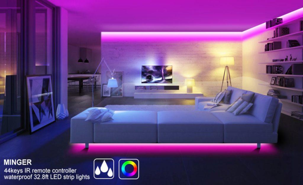 minger led strip light waterproof  minger led lights